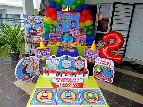 Thomas Friends Thomas Birthday Party