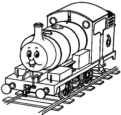 Thomas The Train Coloring Pages GetColoringPages