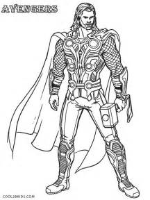 Thor Coloring Pages To Print Thor Movie Coloring Pages