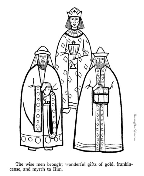 Three Wise Men coloring pages to print 047 Raising Our Kids