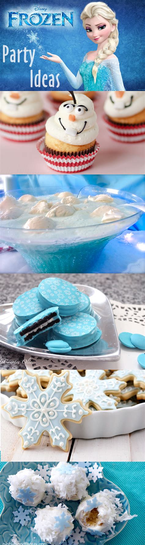Throw a Disney Frozen Themed Party Brownie Bites Blog
