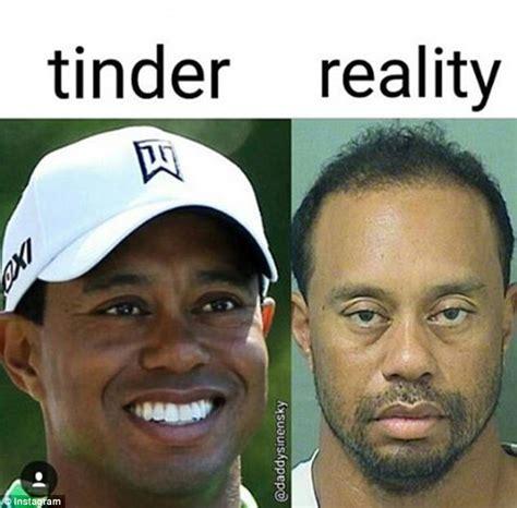 Tiger Woods Mug Shot Gets The Meme Treatment Funny Or
