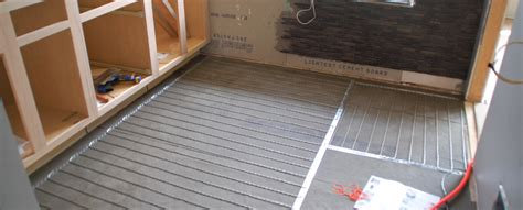 Tile 101 How To Install SunTouch WarmWire Radiant Floor
