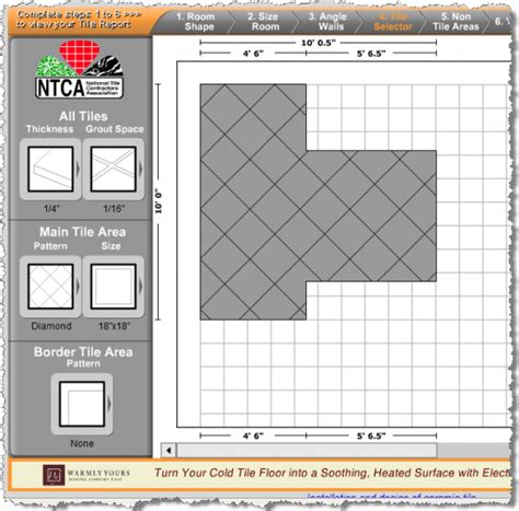 Tile Design Tile Layout and Estimating Software Floor