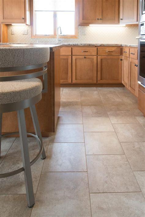 Tile Floor Kitchen Pinterest