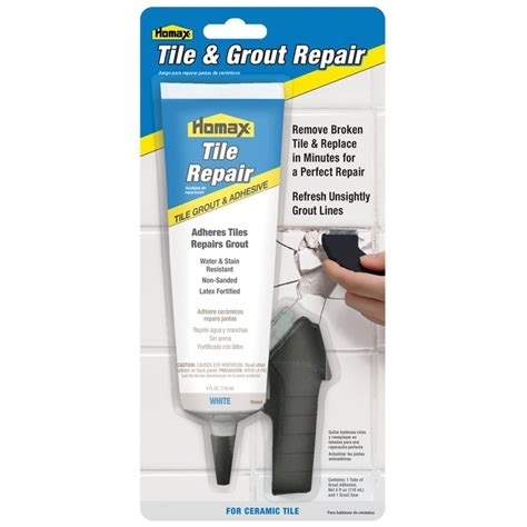 Tile Grout Repair Homax Products
