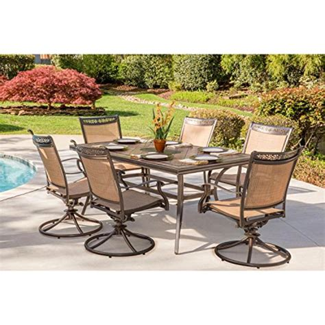 Tile Top Patio Dining Table Set Sears