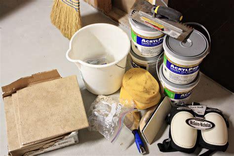 Tiling Supplies DIY