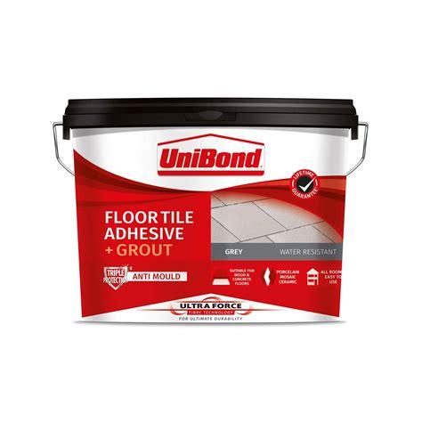 Tiling adhesive grout at Homebase