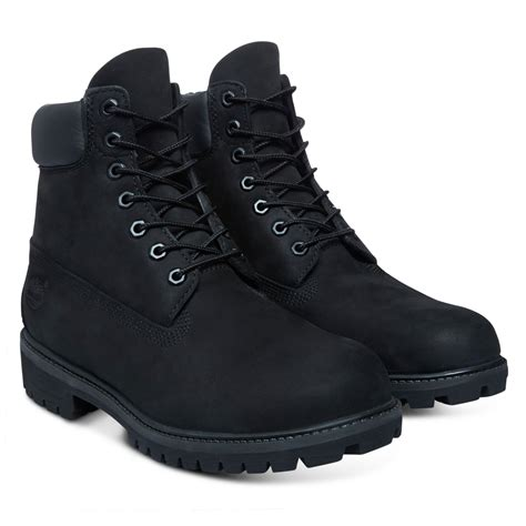 Timberland Black Mens Boots Shoes