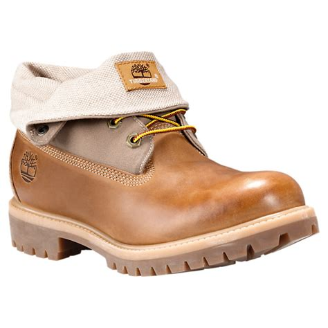 Timberland Mens Roll Top Boots timberland boots with free