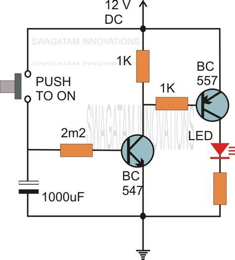 time delay switch wiring diagram images timer board symbols time delay circuit electronics project design