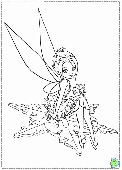TinkerBell and the Secret of the Wings Coloring Pages