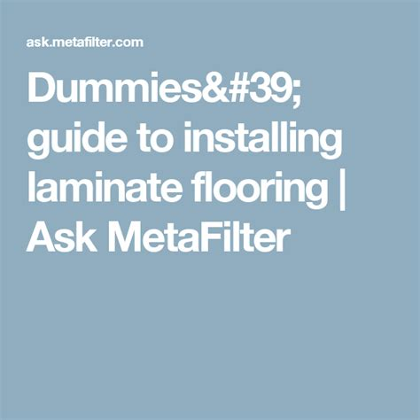 Tips for Laying Carpet dummies