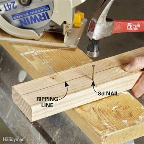 Tips for Ripping Wood Family Handyman