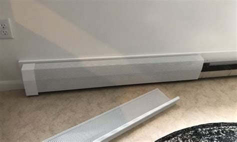 electric baseboard heater electric hydronic baseboard images mark tips on changing baseboard heater covers home guides