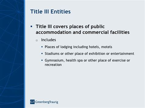 Title II and Title III ADA Regulations and the 2010 ADA