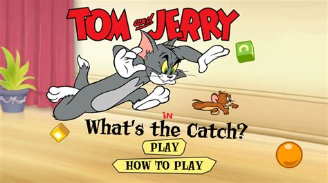 Tom and Jerry Games Play online for free at ToonGames Org