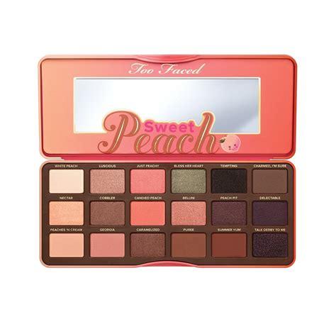 Too Faced Sweet Peach eye shadow palette 18 x 0 95g