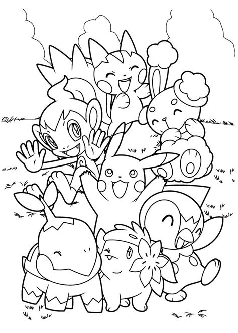 Top 60 Free Printable Pokemon Coloring Pages Online