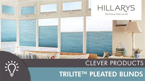 Top down bottom up Pleated blinds Hillarys