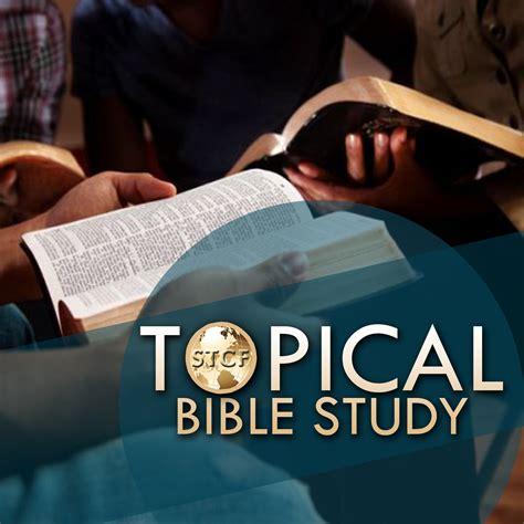 Topical Bible Studies