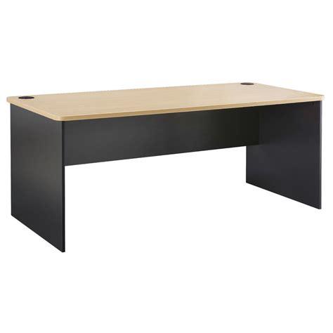 Toro Straight Desk 1500mm Maple Grey Officeworks