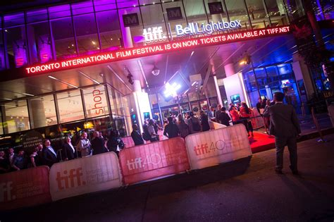 Toronto International Film Festival Annual Festivals