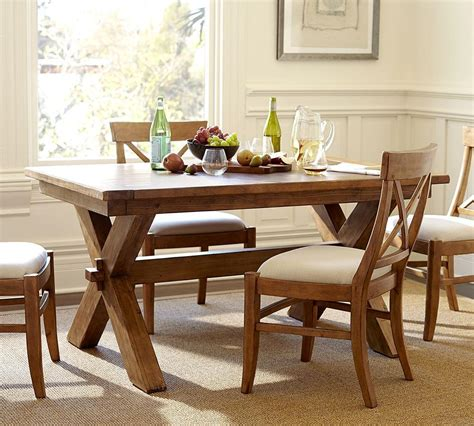 Toscana Fixed Dining Table Pottery Barn