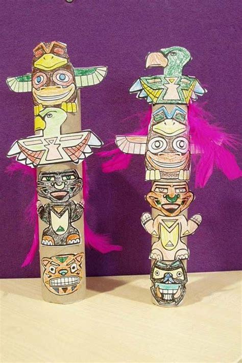Totem Pole Craft Let s Explore