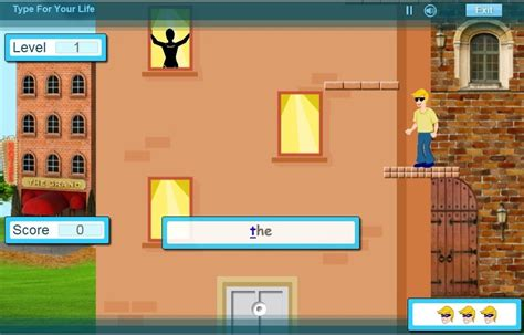 Touch typing games type for your life