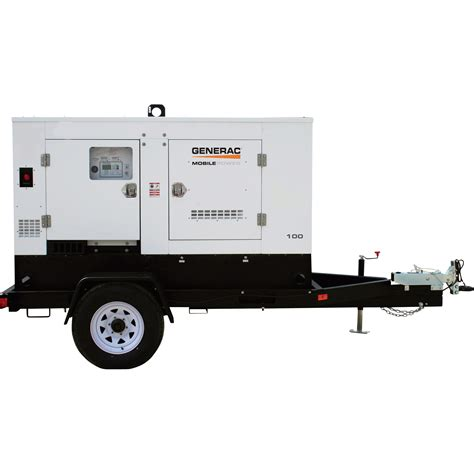 Towable Portable Three Phase Electric Generator Models