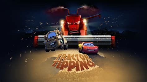 Tractor Tipping Cars The Video Game World of Cars