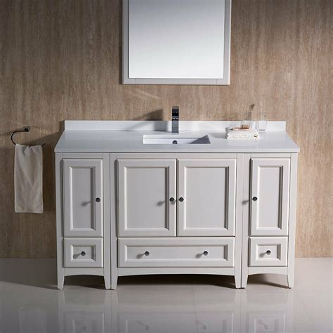 Traditional Bathroom Vanity Cabinets on Sale with Free