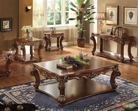 Traditional Coffee Tables LuxeDecor