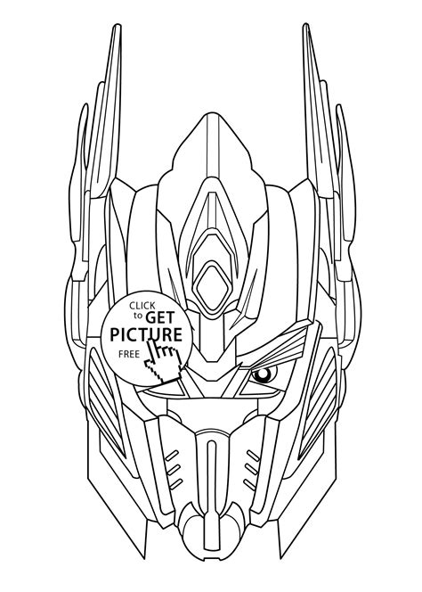 Transformers Coloring Pages Free and Printable