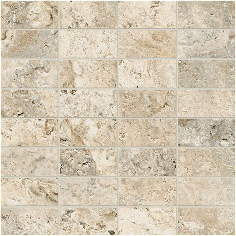 Travisano Trevi 12 in x 12 in x 8 mm Porcelain Mosaic
