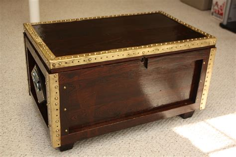 Treasure Chest Coffee Table and End Table