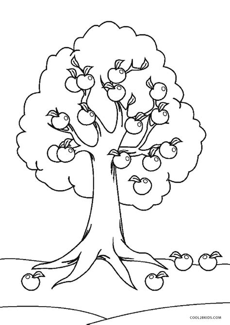 Trees coloring pages Free printable coloring sheets for kids