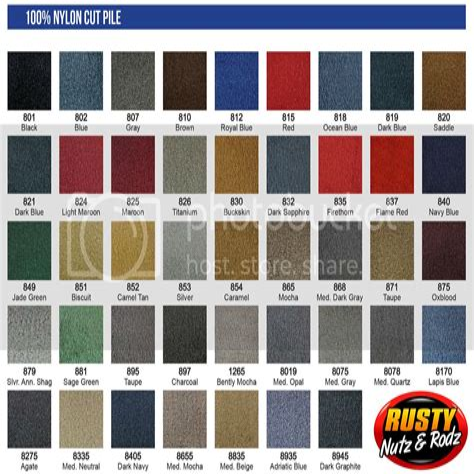 Trim Parts Cut Pile Carpet Kits JCWhitney