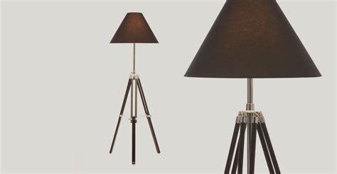 Tripod Floor Lamp the Navy available in black made
