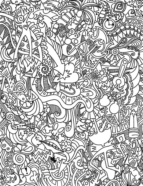 Trippy Coloring Pages Free Printable 4576
