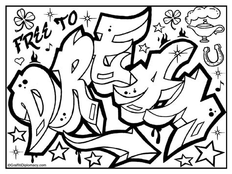Trippy Coloring Pages Graffiti Graffiti Art Coloring Pages