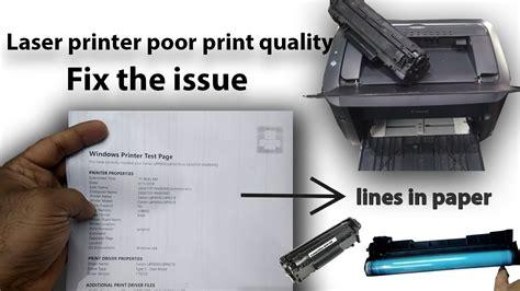 Troubleshooting Laser Printer Print Quality Problems