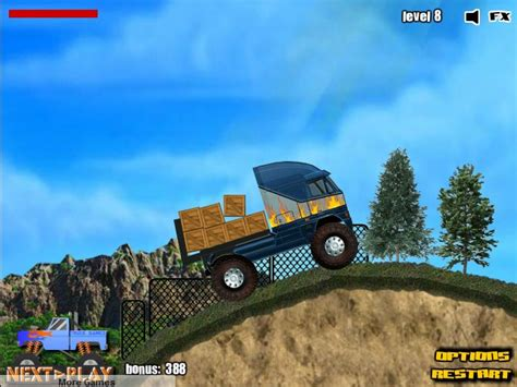 Truck Mania 2 Free online games at Agame