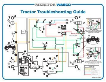 kenworth t2000 wiring diagrams images truck troubleshooting guide meritor wabco