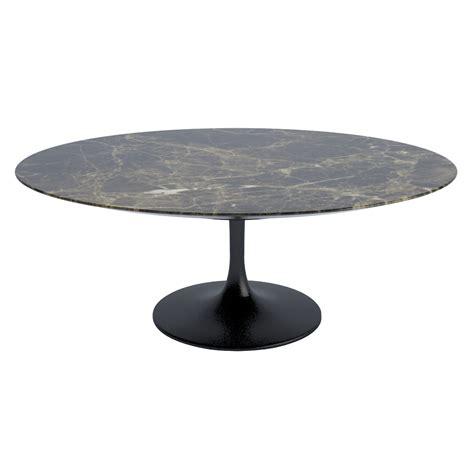 Tulip Marble Oval Coffee Table 59 67 79 MFKTO