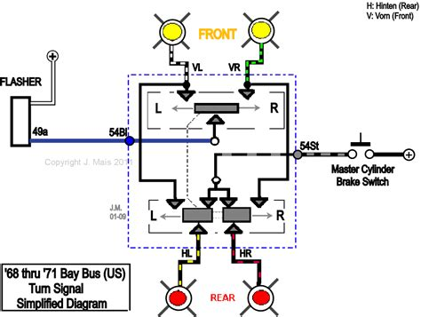 vw bug wiring diagram images turn signal switch hazard switch wiring old volks