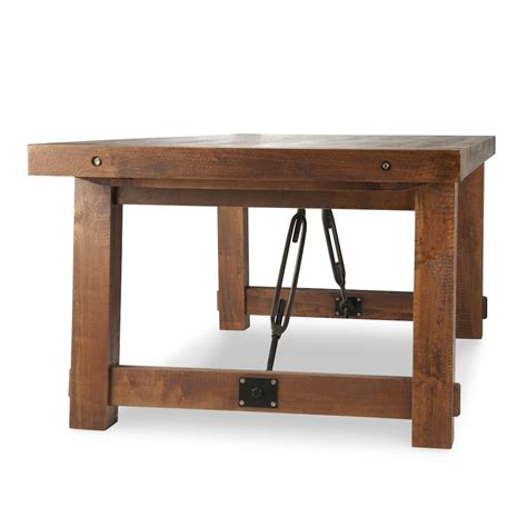 Turnbuckle Dining Table Solid Wood Woodcraft