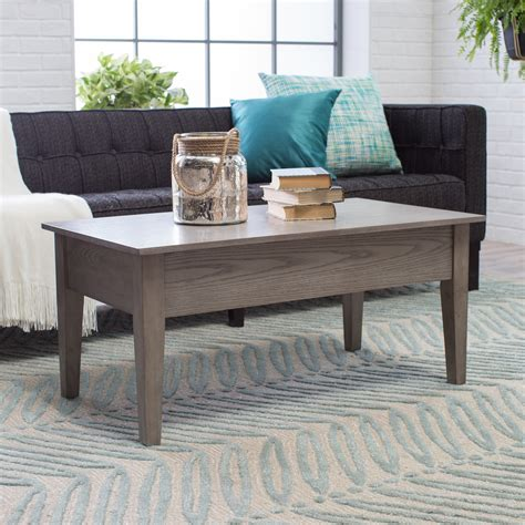 Turner Lift Top Coffee Table Espresso Hayneedle